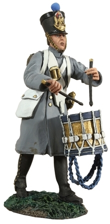 French Line Infantry Fusilier Drummer Marching No.1