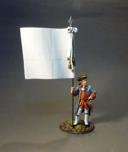 OFFICER WITH COLONELS' COLOUR