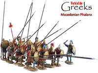 Antike - Macedonian Phalanx