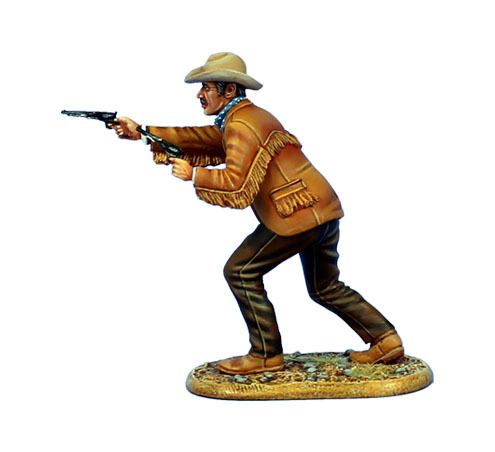 Gunfighter with Two Pistols