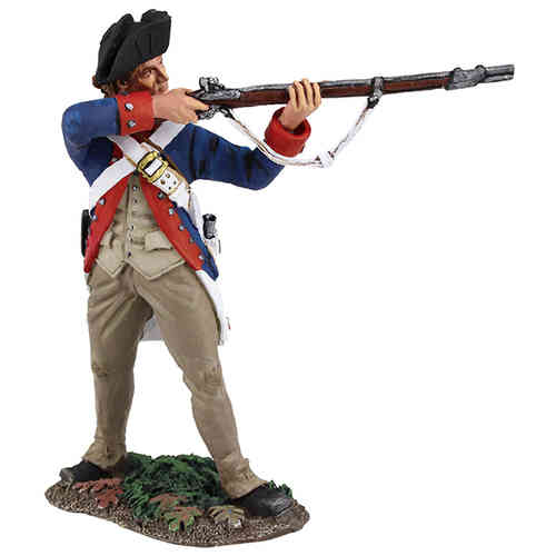 Continental Army 1st American Regiment Standing Firing