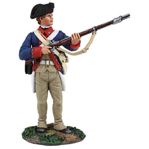 Continental Line/1st American Regiment Standing At Ready, 1777-1787