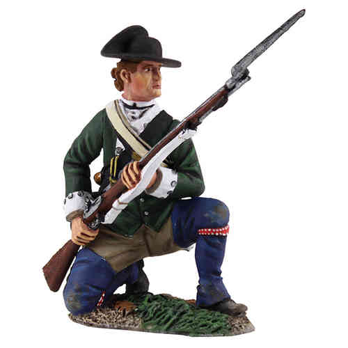 Loyalist Butler's Ranger Kneeling at Ready