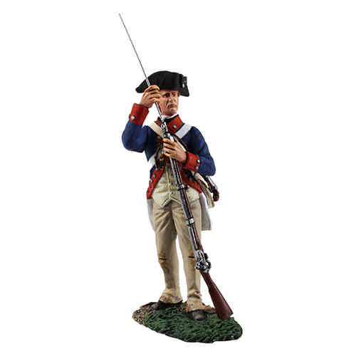 Continental Army 1st American Regiment Standing Ramming