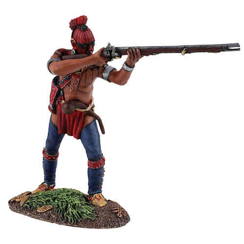 Eastern Woodland Indian Standing Firing №1