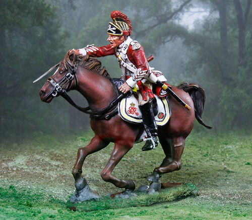 British 17th Dragoons Officer