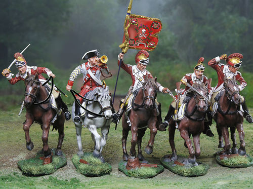 British 17th Dragoons Set Special Take all five poses for a great package price.