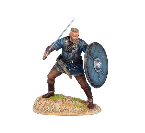 Viking King with Sword and Shield