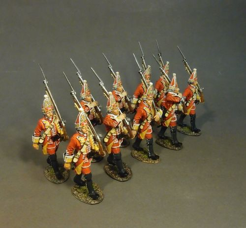 BOOSTER/STARTER SET #2 BRITISH GRENADIERS, 35th REGIMENT OF FOOT, (10pcs)
