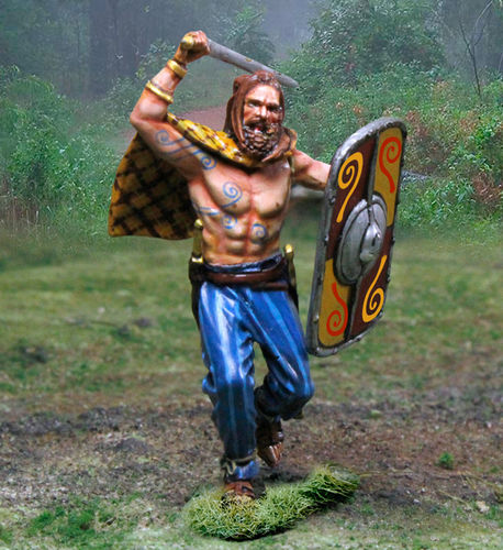 Barbarian Attacking