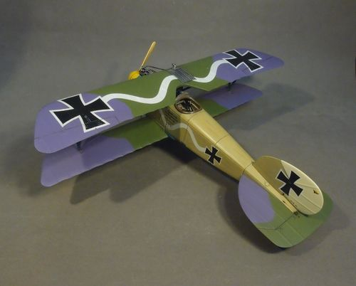 ALBATROS D.III (OAW), Jasta 10, Marcke, September 1917, Flown by Ltn. Erich Lowenhardt,  (1pc)