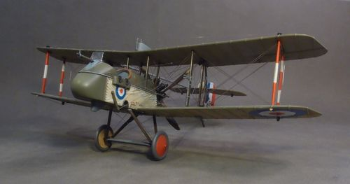 AIRCO DH-2 5964, No.24 Sqn. Bertangles, November 1916, Flown by Major Lanoe G Hawker,  (3pcs)