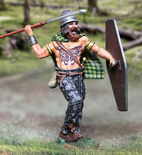 Barbarian With Pilum