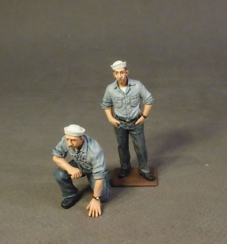 USS SARATOGA (CV-3), SAILORS, (2pcs)