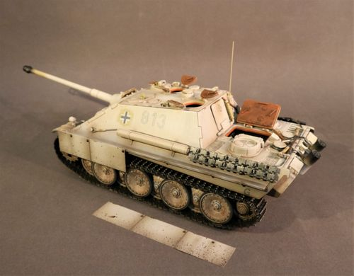 "Jagdpanther Ausf. G2 2. SS-Panzer Division ""Das Reich"", 1945, LAKE BALATON, HUNGARY. SCALE 1/30"