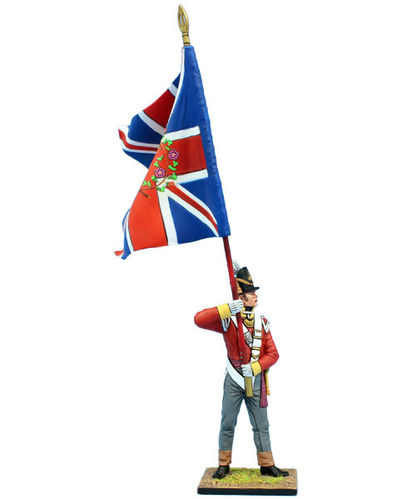 British 30th Regt of Foot Ensign Standard Bearer