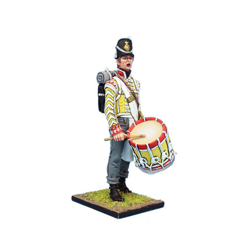 Britisches 30. Regt of Foot Grenadier Drummer