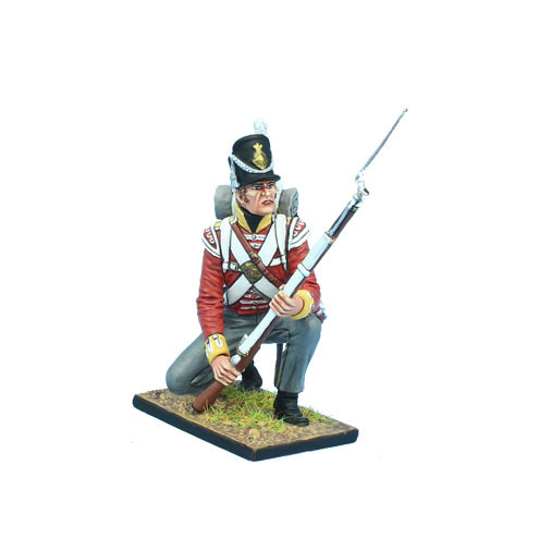 British 30th Regt of Foot Grenadier Kneeling Ready #1