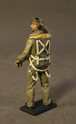 USS BUNKER HILL, PILOT IN ONE PIECE FLYING SUIT. (1pc)