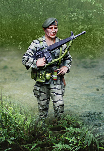 Vietnam Col Mike Kirby - The Green Berets