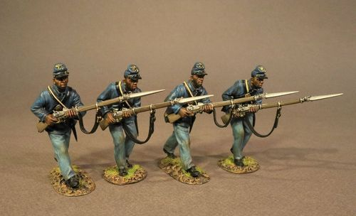 4 Infantry Advancing