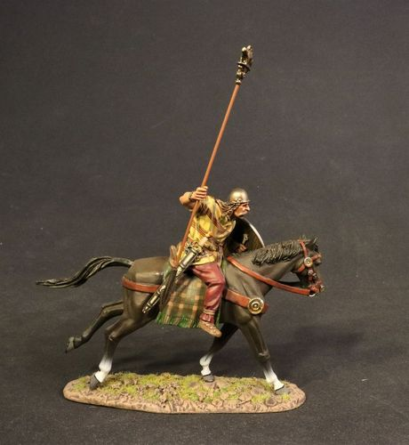 ANCIENT GAULS, WARRIOR CHARGING WITH BOAR STANDARD. (2 pcs)