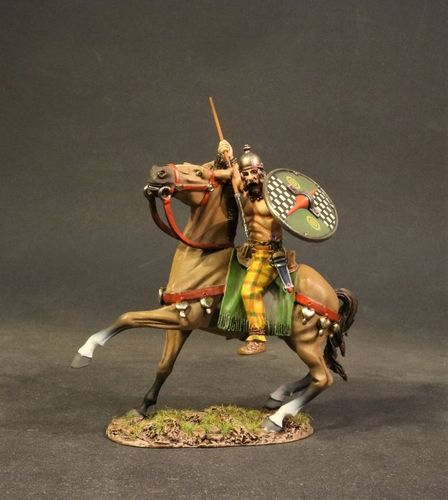 ARMIES AND ENEMIES OF ANCIENT ROME, ANCIENT GAULS, GAUL CAVALRY, (2 pcs)